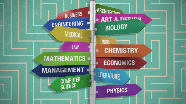 vybrat specialnost v universitete usa