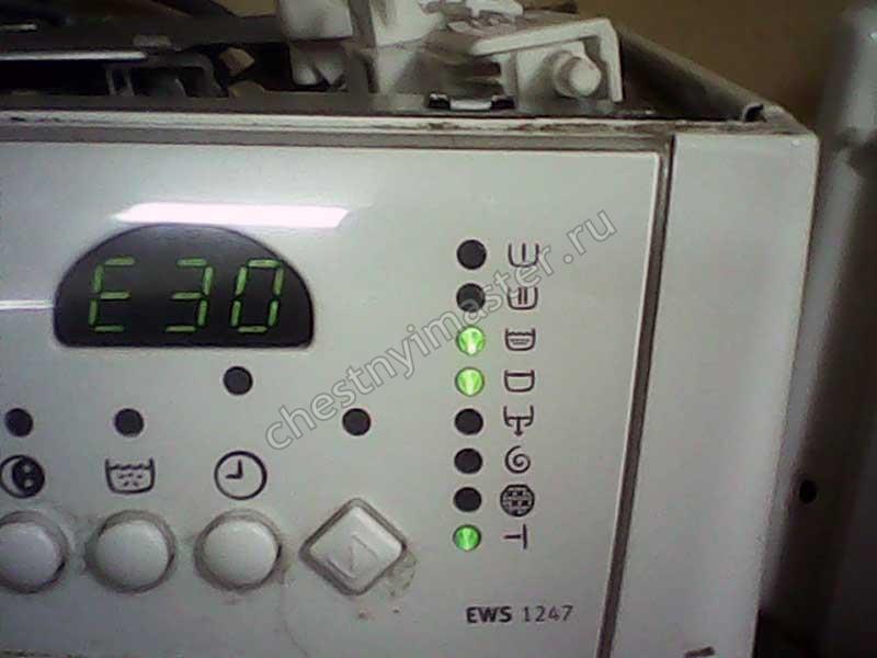 Ремонт стиральных машин Электролюкс
