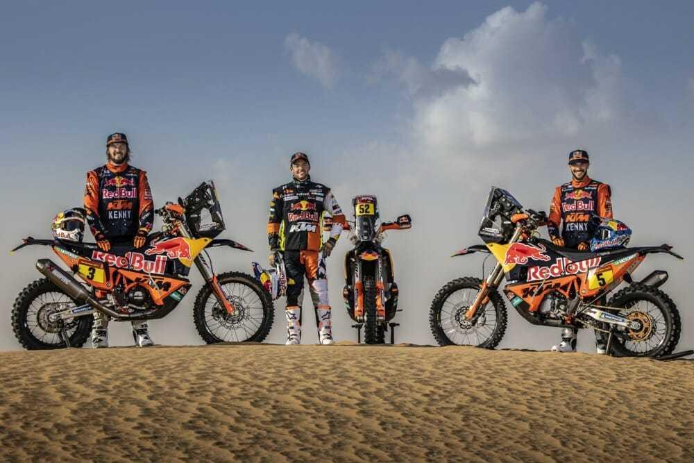 Гонщики Red Bull KTM Factory Racing готовятся к Дакару 2021