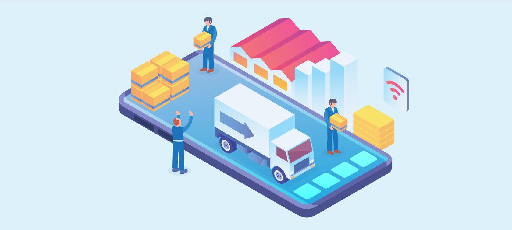 Автоматизация процессов доставки