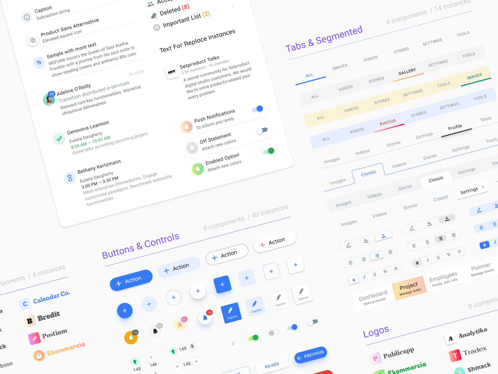 Figma material design components  Preview the library