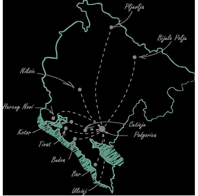 экскурсии по черногории, гид по черногории, крепости черногории