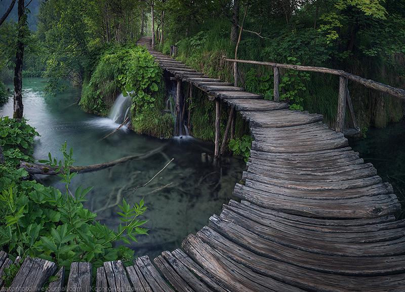 Плитвицкие озера. Фото Д. Корженова