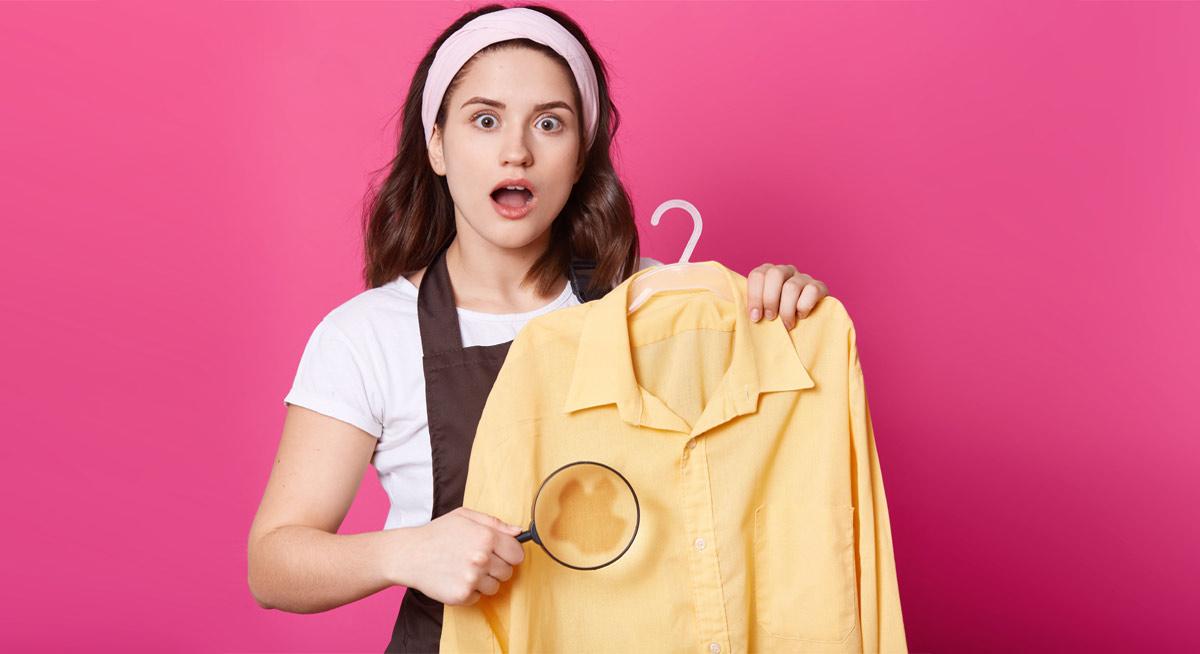Вижте как да премахнете петната от кафе, кръв, мазнини, сосове, мастило, шоколад и други от дрехите.