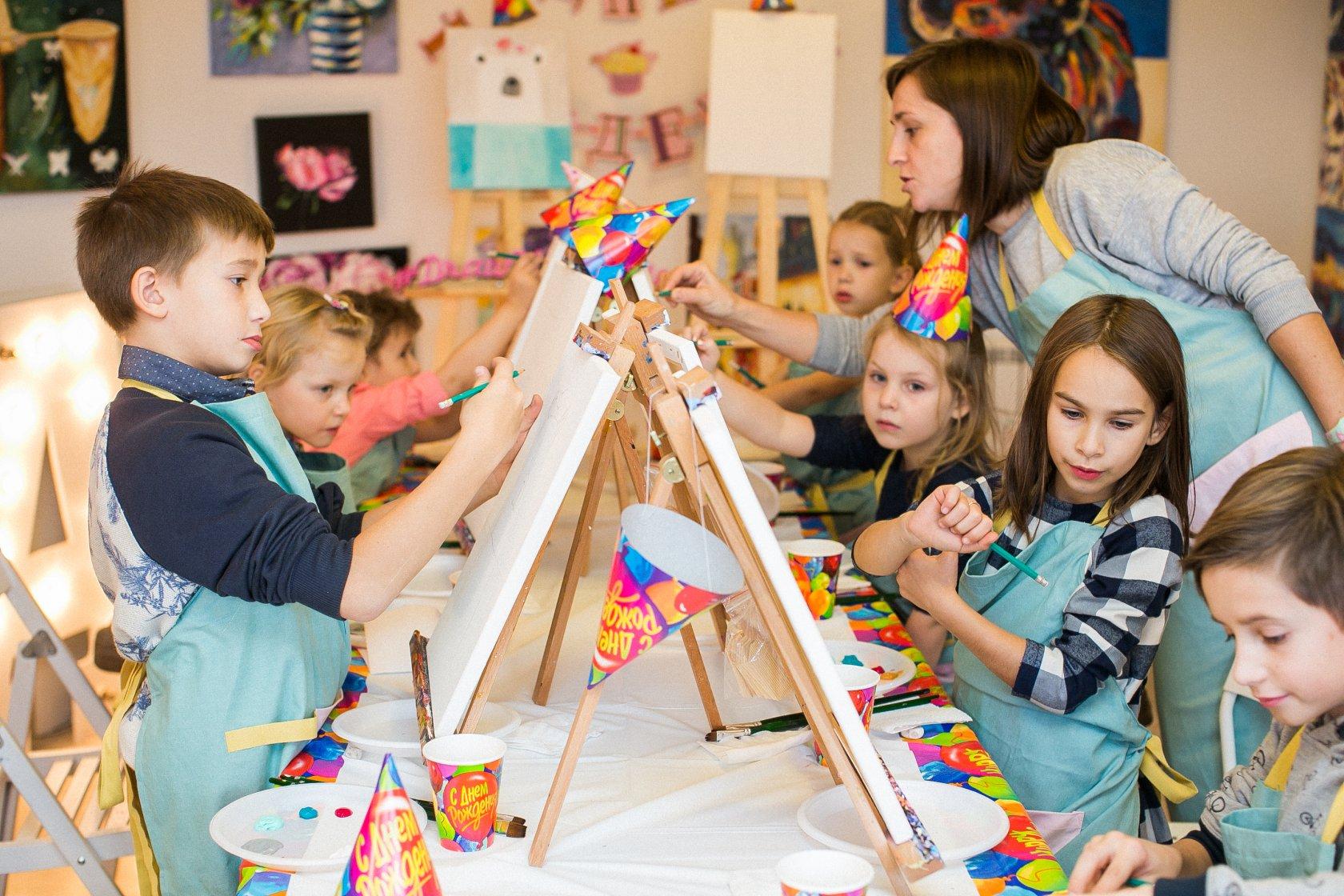 картинки творческая мастерская с детьми чучвара