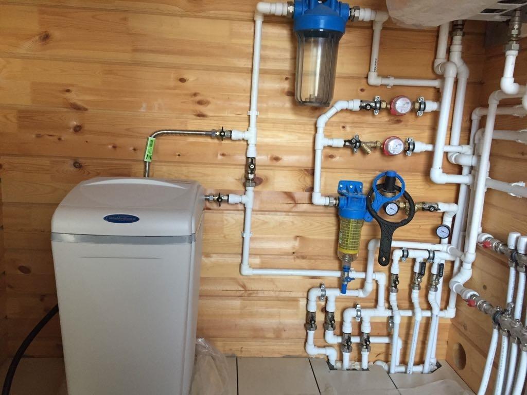 Схема водоснабжения частного дома фото