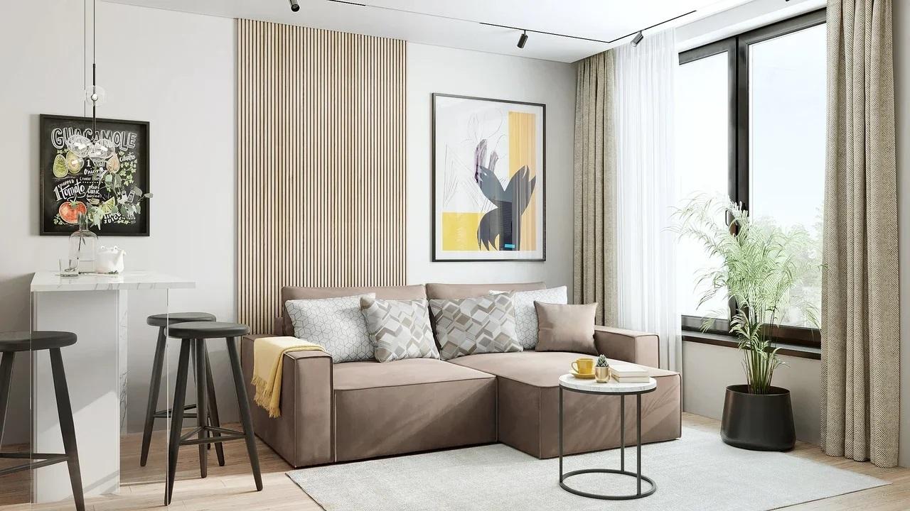 модульный диван-кровать Корсо, матрас с независимым пружинным блоком