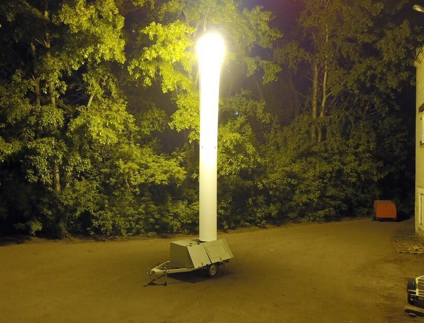 Сверхмощная автономная осветительная установка АСОУ-3000