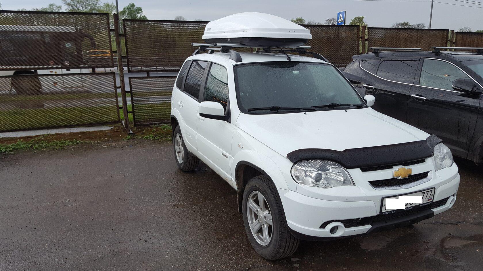 Chevrolet Niva автозвук