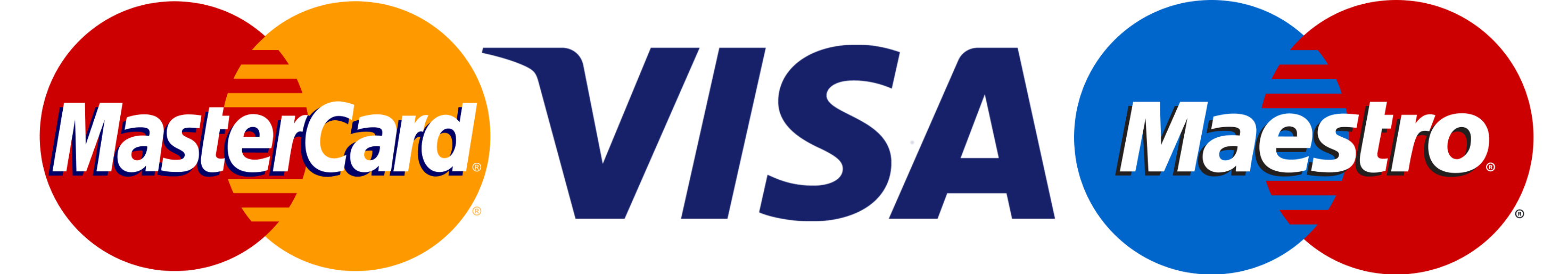 MasterCard VISA Maestro