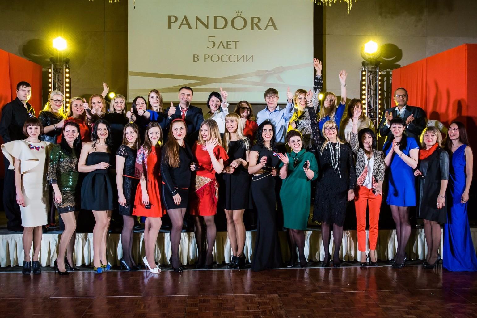 История PANDORA в России