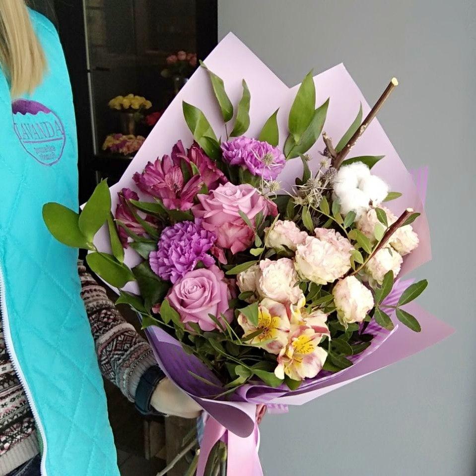 Краснодар заказ букетов, под цветы