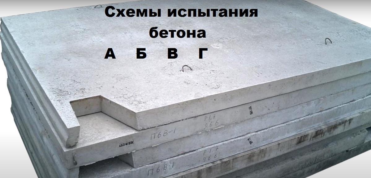 бетона г