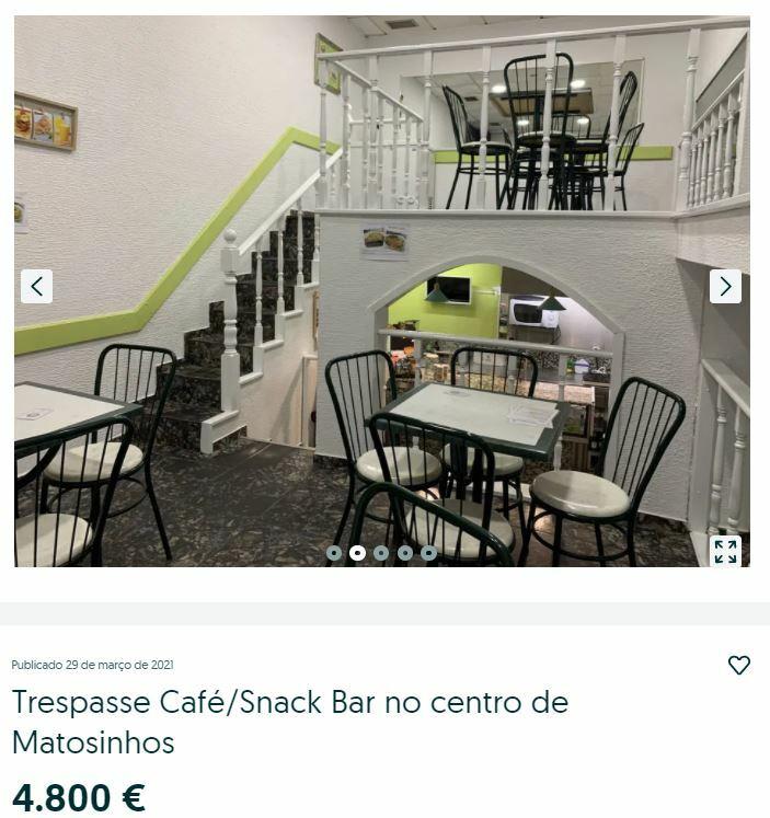 купить кафе в португалии