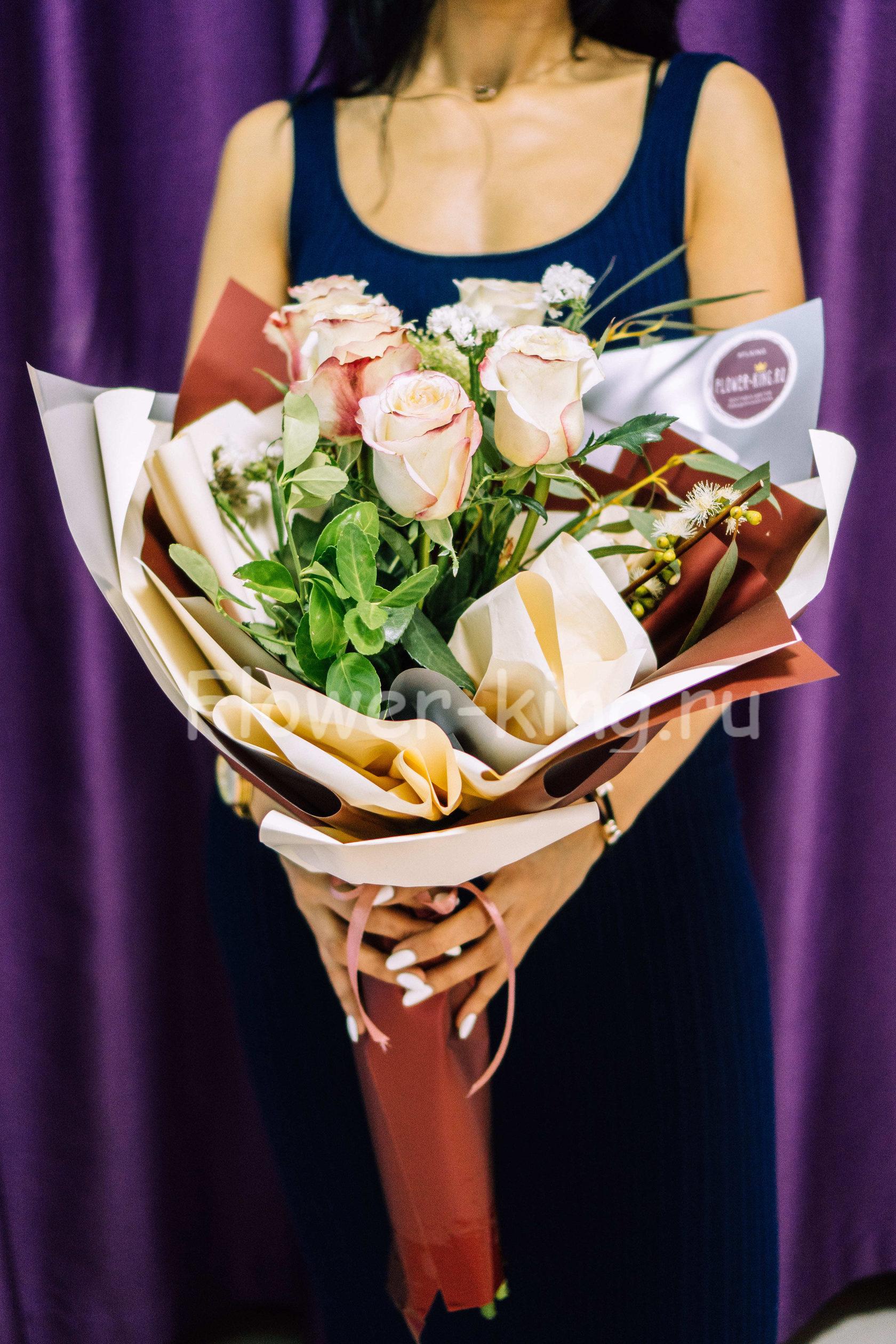 Букет розы, сайты краснодара доставка цветов