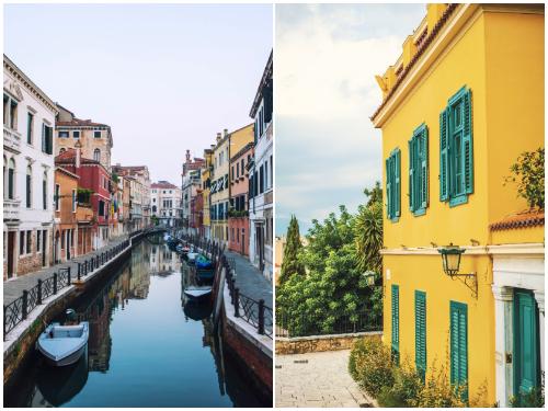 Афины и Венеция в январе