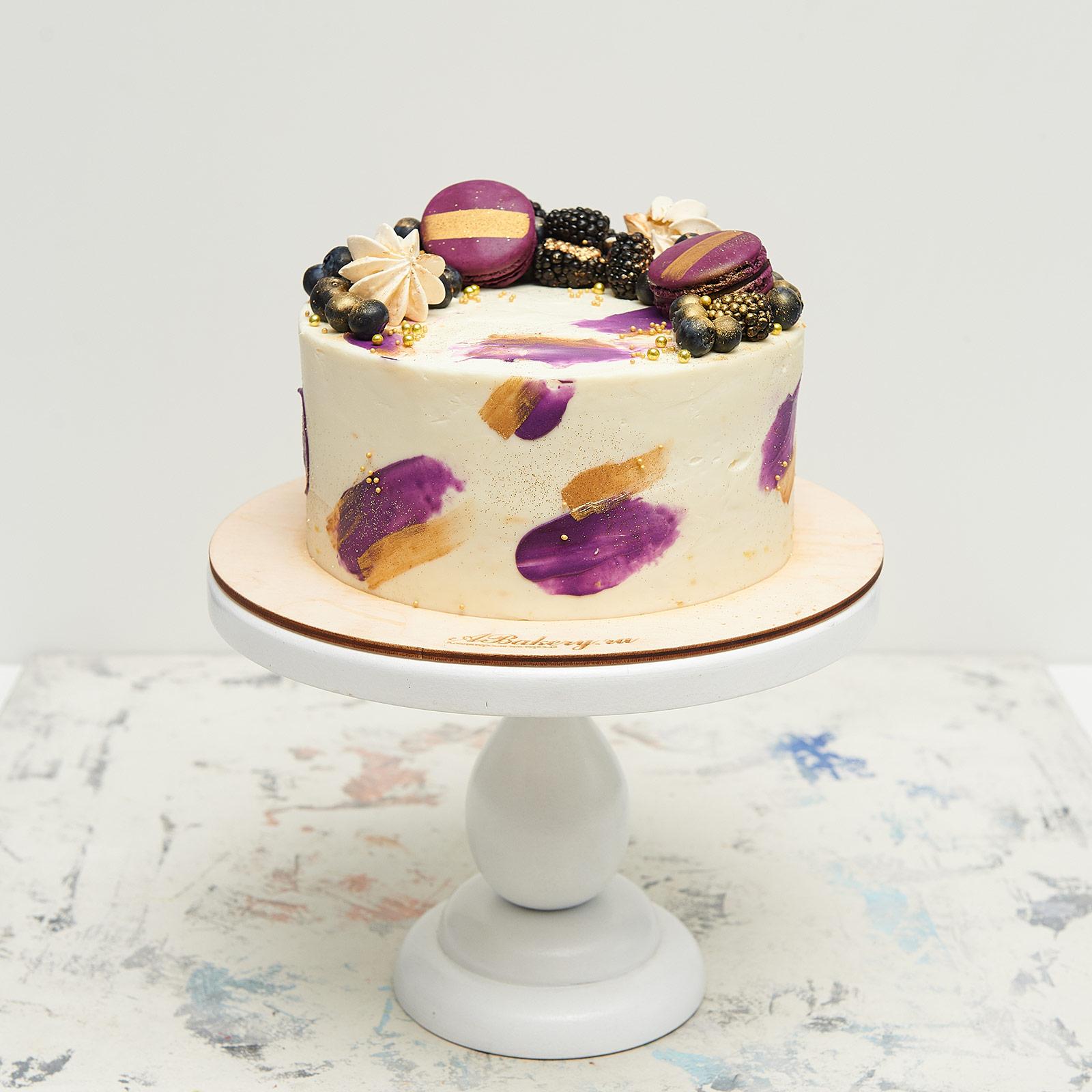 стильный торт