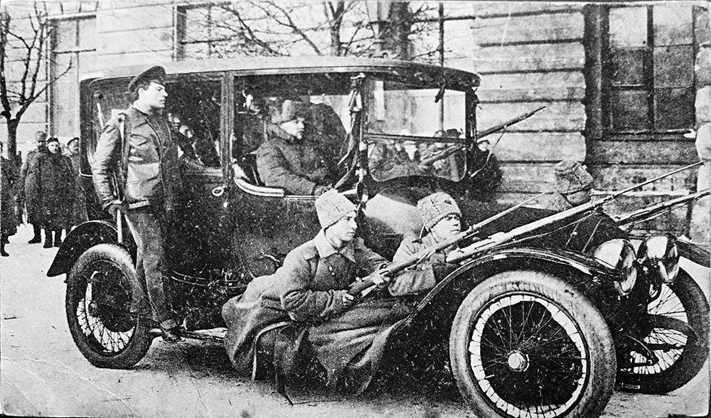 милиция в Петрограде 1918 год