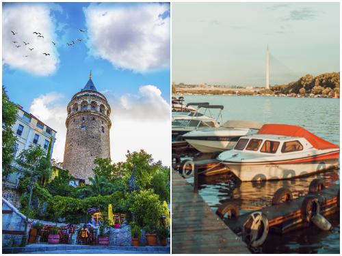 Стамбул и Белград в январе