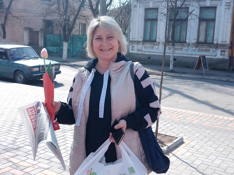 Партия Шария поздравляет женщин в Рени