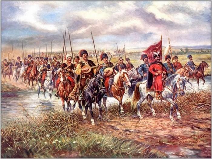 запорожские козаки поход - фото