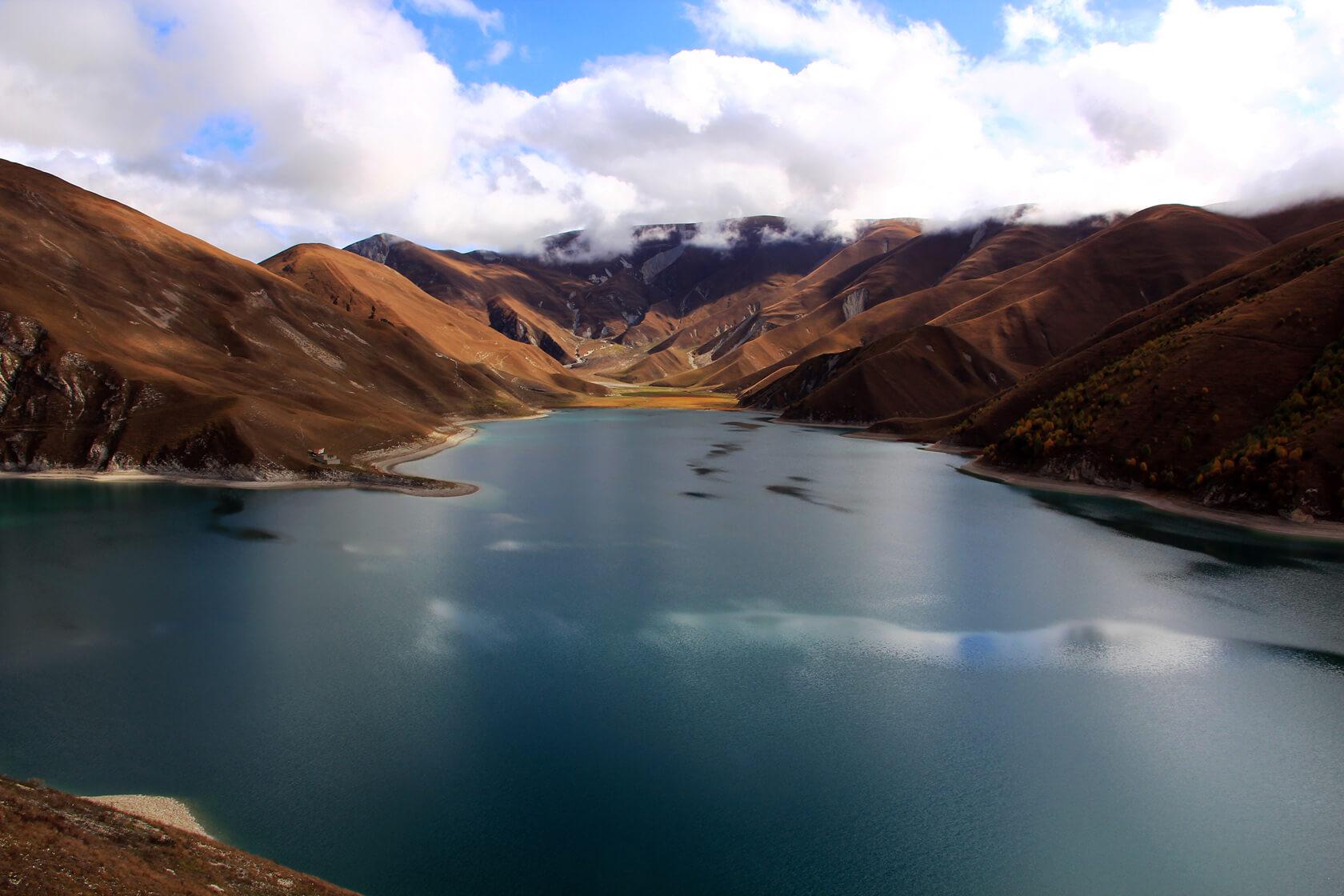 озеро Кезенойам Чечня