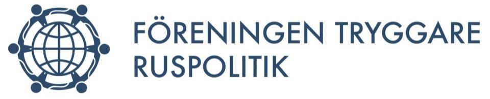 Föreningen Tryggare Ruspolitik