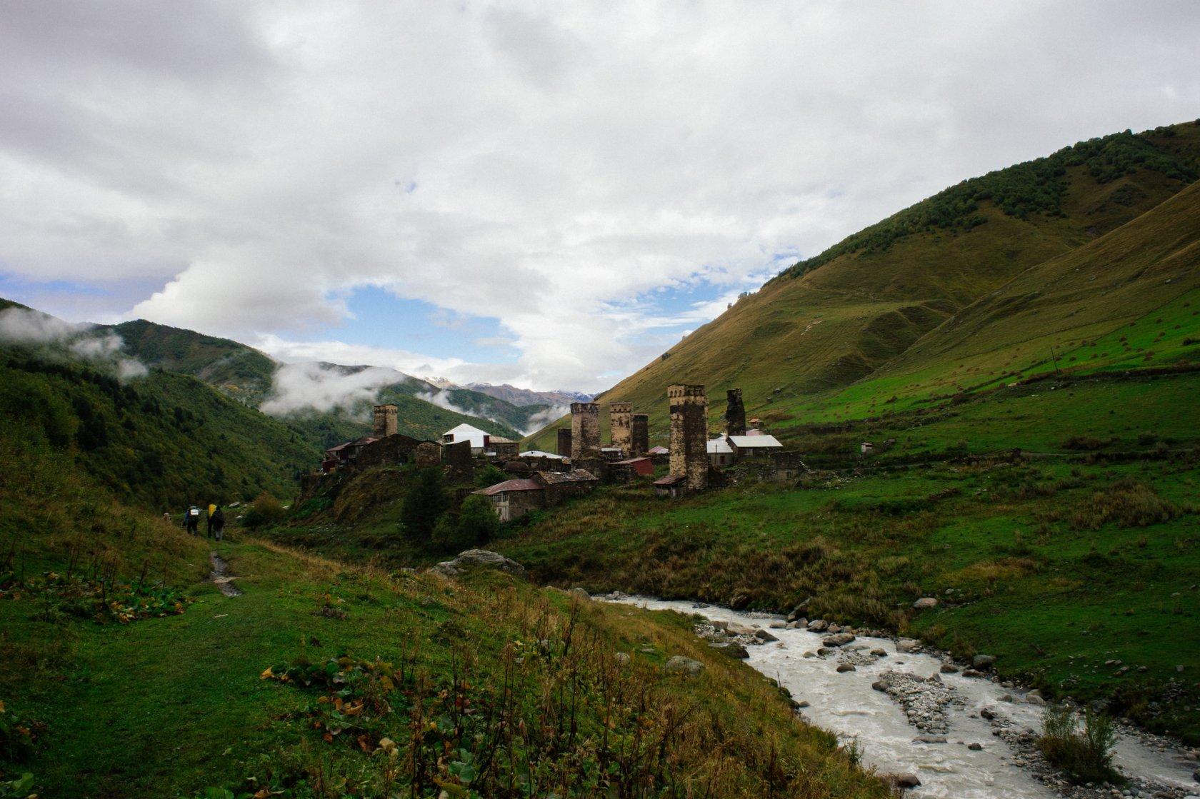 сванетия,грузия