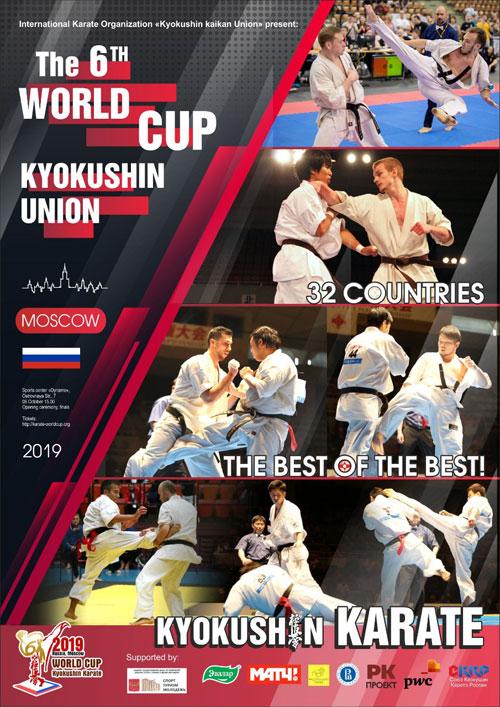 The 6th Kyokushin Karate World Cup Kyokushin Union 2019