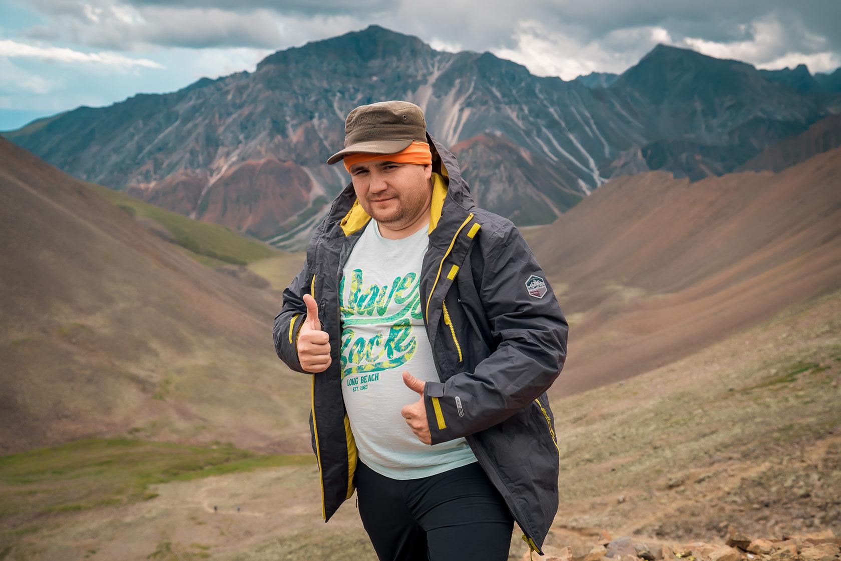 Рамиль Нигмадззянов в Комбат-туре «Байкал и Восточный Саян 2017»