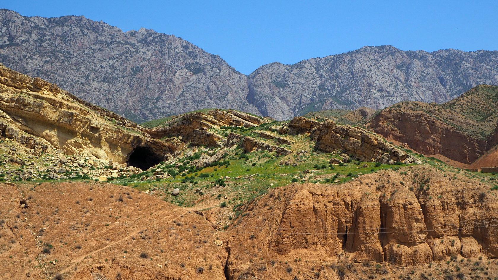 Каньон в Баткенской области
