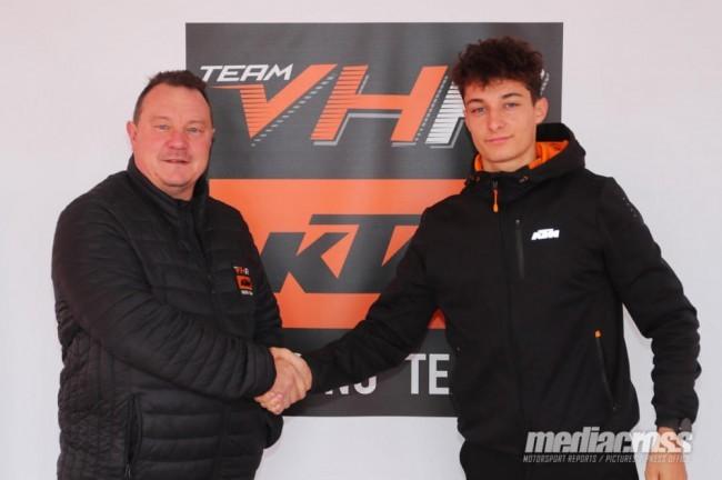 Том Гийон подписал контракт с VHR KTM