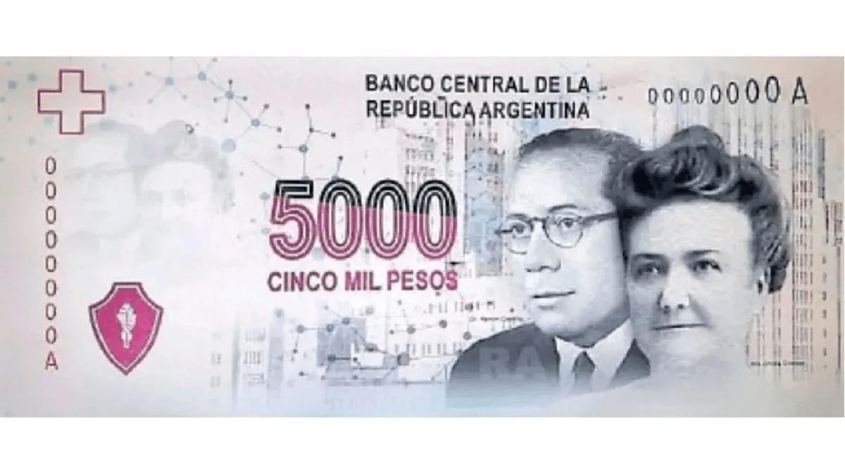 5000 песо в Аргентине