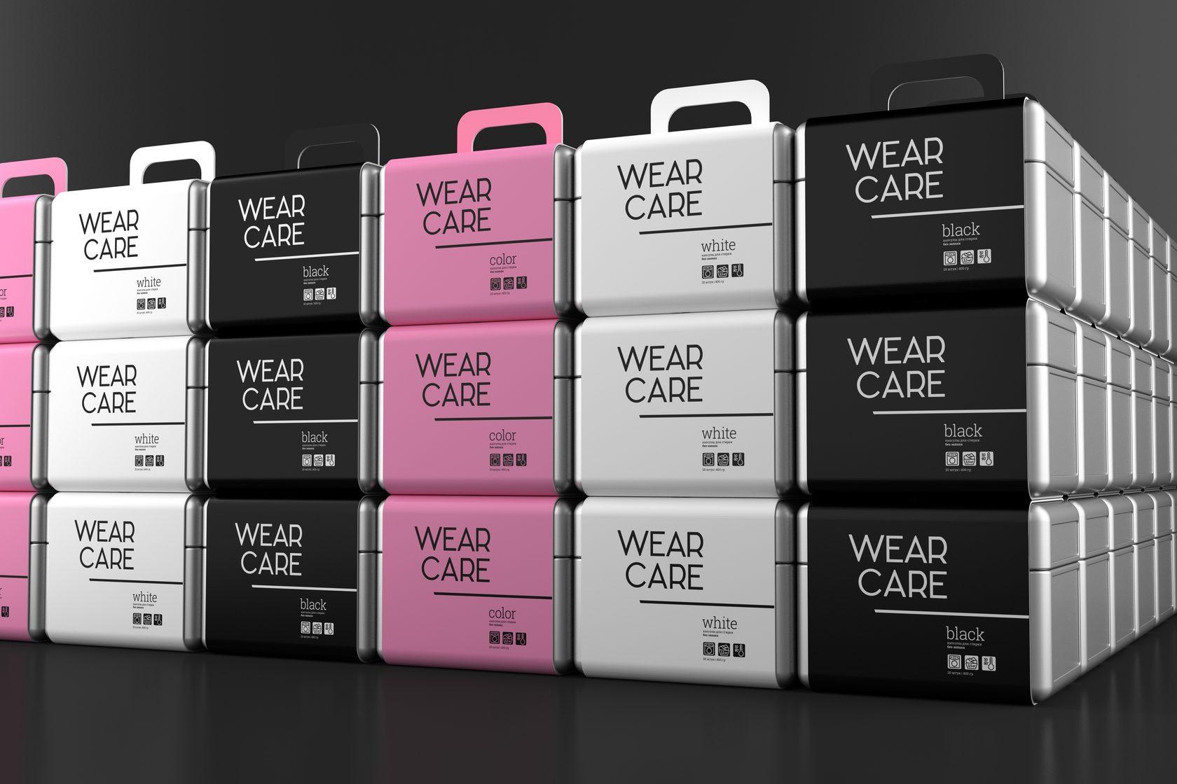 wearcare packaging series