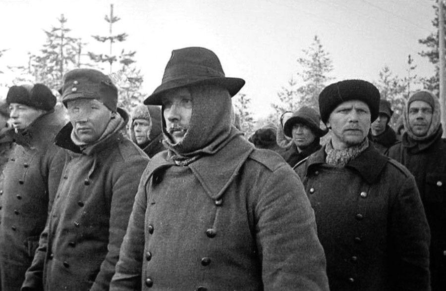 Пленные. Декабрь 1939 г.