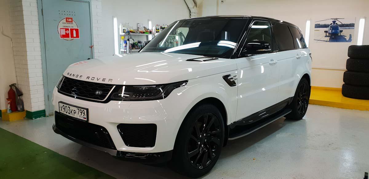 Range Rover Sport - оклейка полиуретановой пленкой