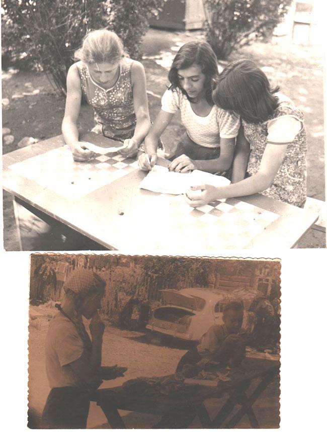 Трудовой лагерь,конец   70-х