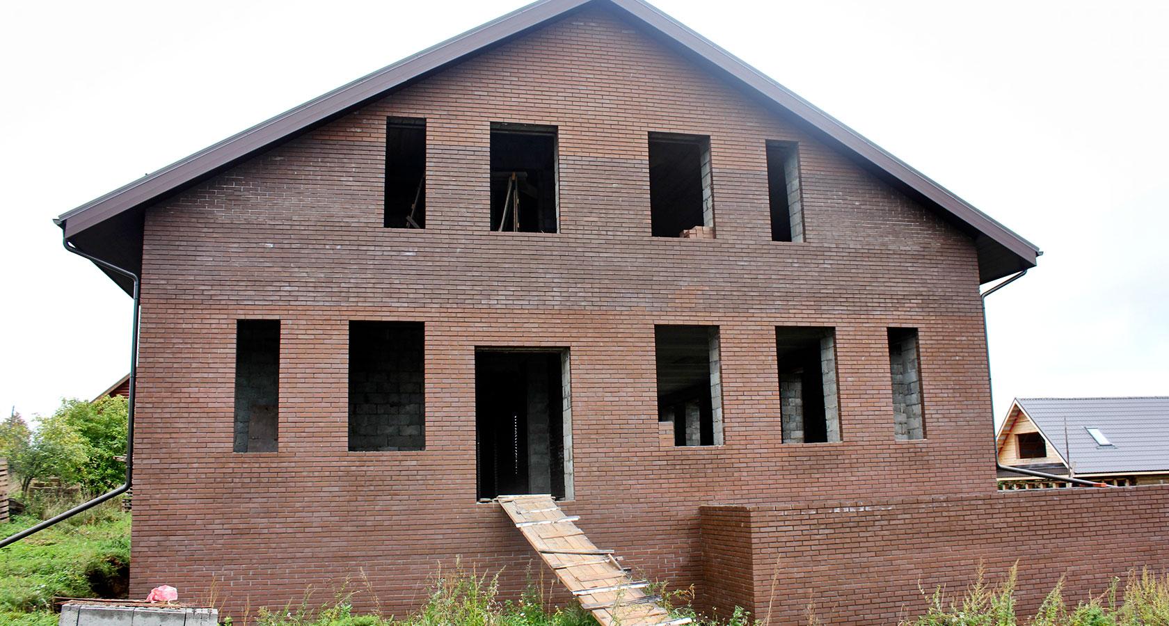 керамзитоблок двухэтажные дома