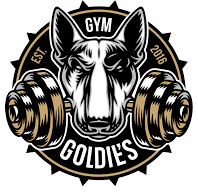 logo goldies gym