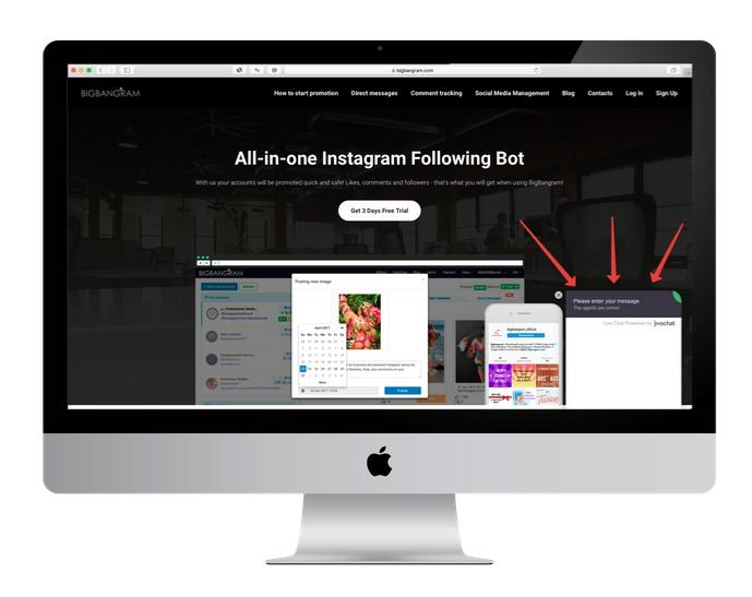 jivochat at Bigbangram site