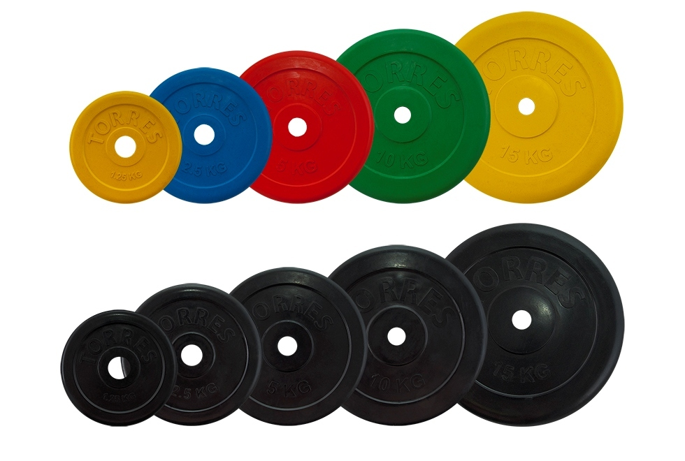 диски для штанг и гантелей TORRES