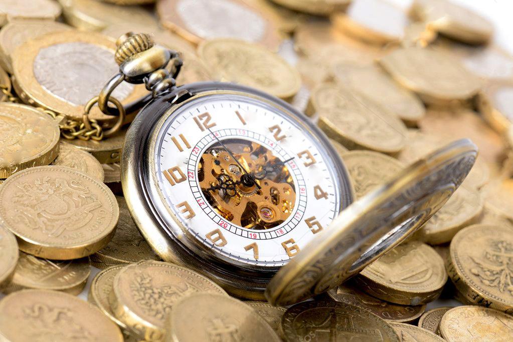 картинки денежные часы