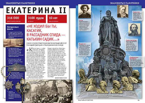 Памятник Екатерине II. История