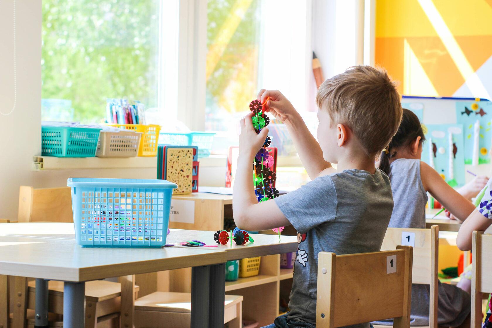 современный дизайн детского сада