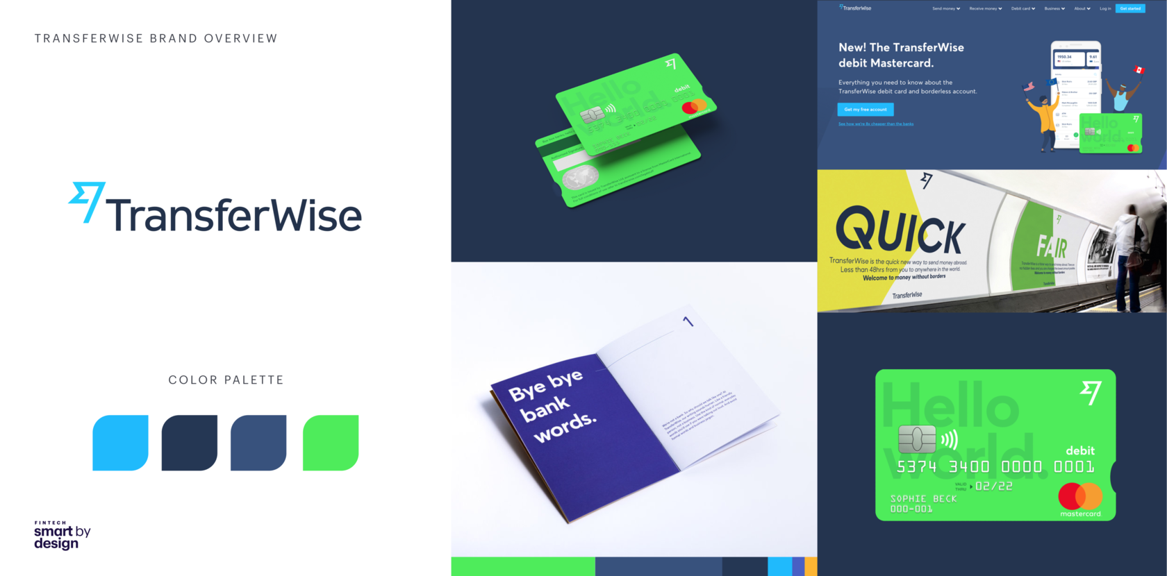 TransferWise branding overview