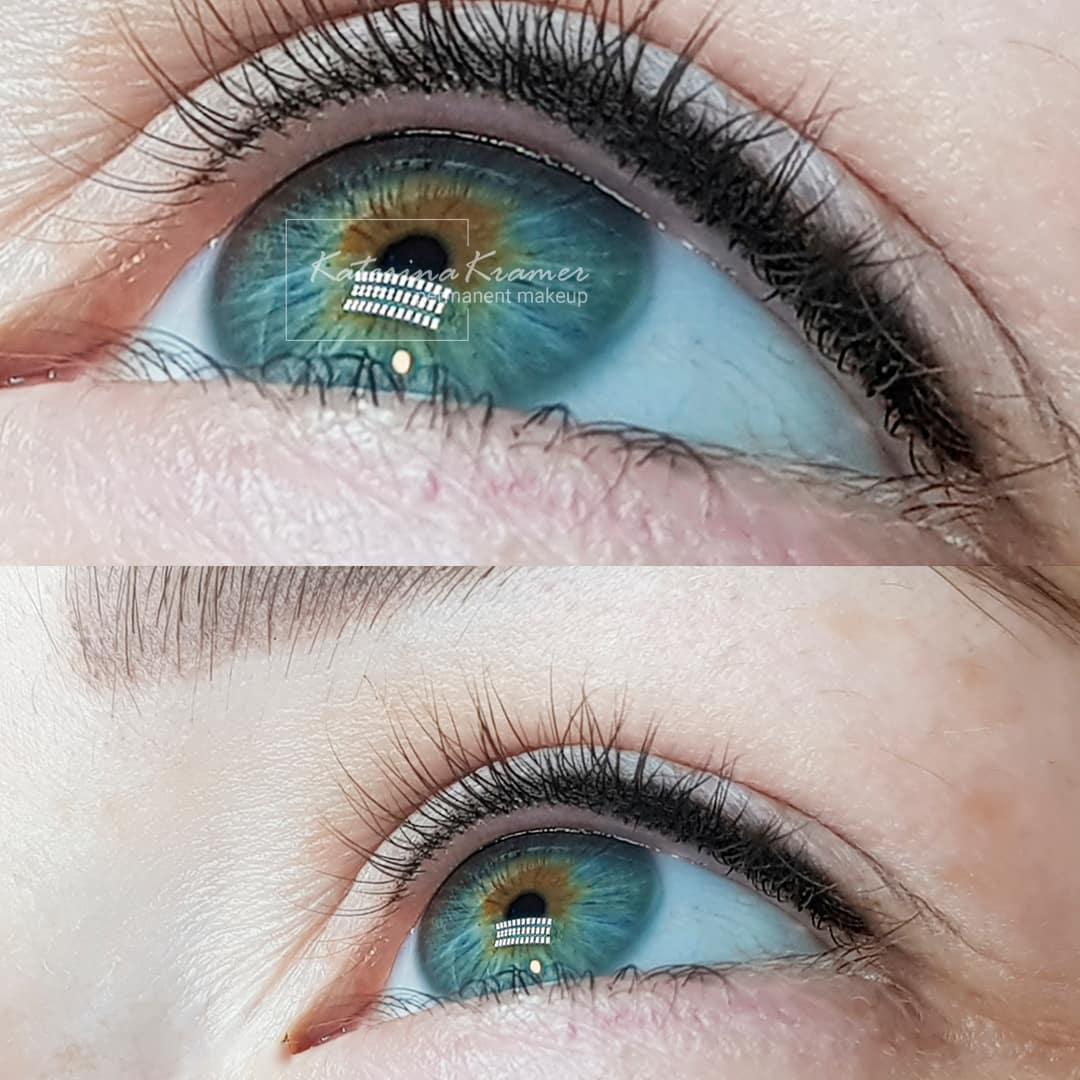 межресничный татуаж глаз фото ❤️ KRAMER PMU STUDIO