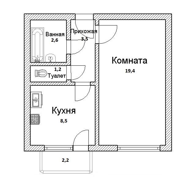 Ремонт квартир в Самаре под ключ - фото 30