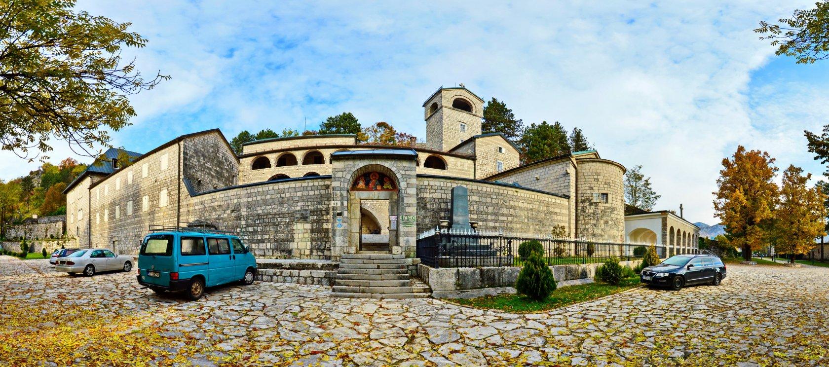 фото монастырь цетинье, цетиньский монастырь, фото город цетинье, экскурсии по черногории