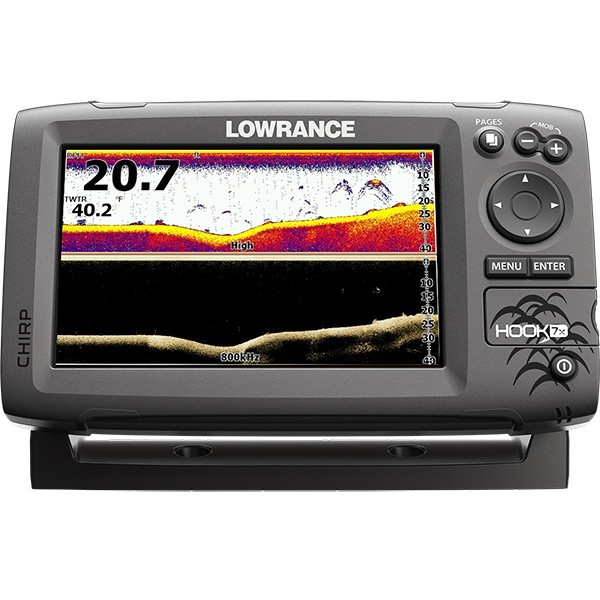 Lowrance HOOK-7x Mid High DownScan