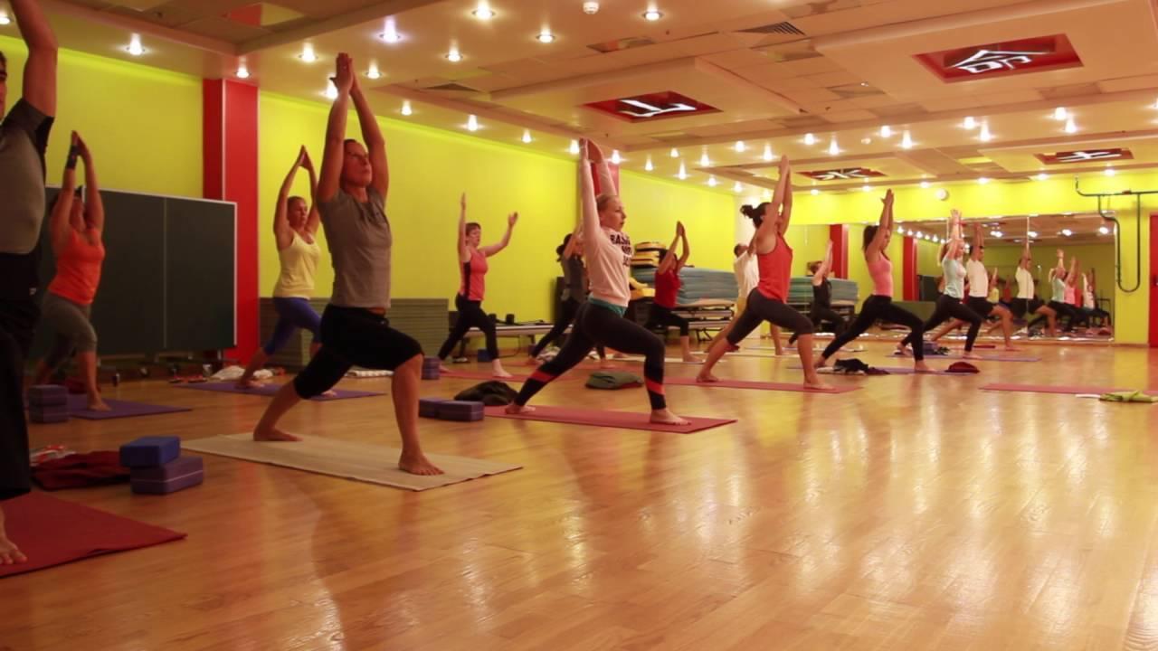 Хатха йога занятия